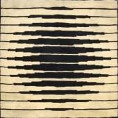 Teppich, um 1970 Victor Vasarely zugeschrieben Nachverkaufspreis: € 4.000 zzgl. Aufgeld Los 454