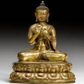 BUDDHA DIPANKARA, Tibet, 17. Jh. Verkauft für CHF 180 400