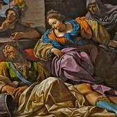 Lionello Spada (1576 – 1622)  Samson und Delilah | Um 1615 | Öl auf Leinwand | 150 x 191cm Taxe: 50.000 – 80.000 €