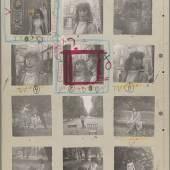 Ed van der Elsken Contact sheet Saint-Germain-des-Prés, Parijs (Love on the Left Bank), 1950-1954.