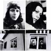 Katalin Ladik, Pseudo Prisutnost, 1974, courtesy acb Gallery  Katalin Ladik Pseudo Prisutnost, 1974 Silver gelatin print, 4 pieces 40 x 30 cm and 30 x 40 cm Courtesy acb Gallery