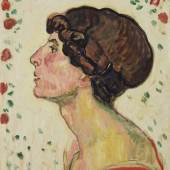 FERDINAND HODLER, Bildnis Valentine Godé-Darel   1912 © Leopold Museum, Wien