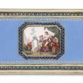Lot 968 Tabatiere mit detaillierter Miniaturmalerei Premiumpreis: 8.640 € (inkl. Aufgeld & MwSt.)