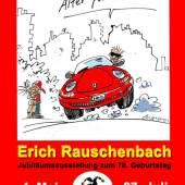 Plakat zur Ausstellung Erich Rauschenbach