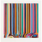 Ian Davenport - Duplex Etching Grey 2014/Ed. of 30  Etching on paper 116 x 112,5 cm