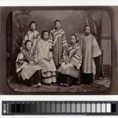 Studio Portrait of Courtesans in Shanghai, c. 1875-1880 Collections Ferry Bertholet, Amsterdam