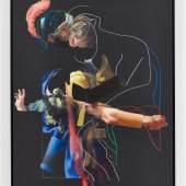 Pieter Schoolwerth Pieter Schoolwerth »After Troy 6 (Vouet)«, 2012  Pieter Schoolwerth »After Troy 6 (Vouet)«, 2012 Öl, Acryl, Pastell und Druck auf Leinwand Sammlung Pinault, Paris