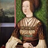 Bernhard Strigel, Bianca Maria Sforza, um 1505/10, Öl auf Holz, Tiroler Landesmuseum Ferdinandeum  © TLM