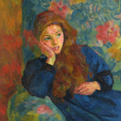 Giovanni Giacometti, Ottilia, 1913, Privatsammlung Schweiz