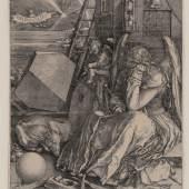 Albrecht Dürer, Melancholia I, Kupferstich, Inv.nr. 1298, Bartsch 74 – Graphisches Kabinett, Wallraf-Richartz-Museum