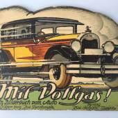 Peng und J. Danilowatz. Mit Vollgas! Ein Bilderbuch vom Auto... (1929) 380,- (Im Baldreit, Baden-Baden)
