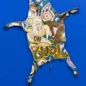 Magdalena Kita White Partisan (On Business), 2016, Acryl auf Wildschweinfell 140 x 100 cm Courtesy: die Künstlerin
