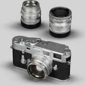 Leica-Kamera M3 Zuschlag von EUR 7.500,-  e (Ausruf EUR 600,-).