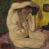 Auktion: 392 / Moderne Kunst am 09.06.2012   Lot: 411201218   Tappert, Georg  Kauernder weiblicher Akt  Schätzpreis: 100.000 EUR / 131.000 $