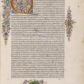 Lot: 18   Plutarch  Vitae parallelae. Venedig 1478.  Schätzpreis: 85.000 EUR / 108.800 $