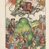 """""""Liber chronicarum"""" von Hartmann Schedel (Los 15).  Erlös von € 114.000"""