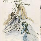 Salvador Dalí Biblia Sacra. 3 Bde., 1967