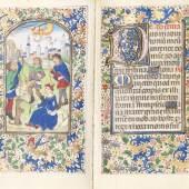 € 103.000* Aufruf: € 20.000 Nr. 1: Lateinisches Stundenbuch Brügge um 1460-70