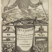 411701283 THOMAS HOBBES Leviathan, 1651. Schätzpreis: € 6.000