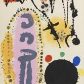 418000007 RENÉ CHAR A la santé du serpent. Mit Orig.-Lithographie von J. Miró, 1954. Schätzpreis: € 6.000