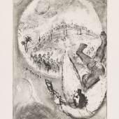 € 60.000* Aufruf: € 28.000 Nr. 083: Marc Chagall – Bible, Paris Tériade 1956 Fanferlieschen Schönefüßchen