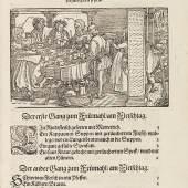 24 MARX RUMPOLT New Kochbuch, 1587. Schätzpreis: € 16.000