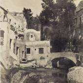 Neapel und der Süden  Firmin-Eugène Le Dien und Gustave Le Gray, Mühlental (Valle dei Molini) bei Amalfi, um 1853/54  © Bayerische Staatsgemäldesammlungen / Sammlung Siegert