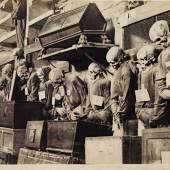 Neapel und der Süden  Giuseppe Incorpora, Kapuzinergruft in Palermo, um 1875  © Bayerische Staatsgemäldesammlungen / Sammlung Siegert