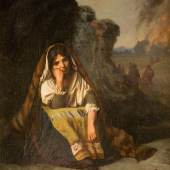 JEAN LÉON GÉRÔME (1824 – 1904), Les misères de la guerre, Öl auf Leinwand, 36 x 31 cm, Rahmen, Limit 100.000,- €