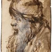 Lot 3437 - A182 Zeichnungen Alter Meister  REMBRANDT, HARMENSZ VAN RIJN, Verkauft für CHF 22 000 (exkl. Aufgeld)