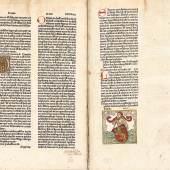 Lot 420 - A182 Bücher  INKUNABELN - Biblia germanica - Verkauft für CHF 38 000 (exkl. Aufgeld)
