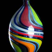 Fantasiekugel, Fadenglas (frei geblasen/verspiegelt), um 1920