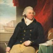 SIR THOMAS LAWRENCE (1769 – 1830), Portrait eines Gentleman -vermutlich des William Layman (1768-1826), Öl auf Leinwand, doubliert. 127 x 102 cm.