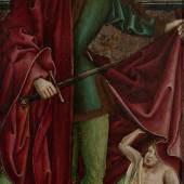 Gotisches Tafelbild um 1500, Werkstatt Zeitblom. - Auktionshaus Michael Zeller (Ausrufnummer 488, Limit 7.500 Euro)
