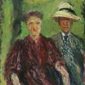 Richard Gerstl, Paar im Grünen, 1908 © Leopold Museum, Wien, Inv. 645