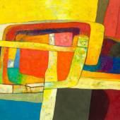 MAURICE ESTÈVE Calcarone. 1978. Öl auf Leinwand. 72 x 92 cm. Ergebnis: CHF 171 000