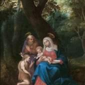 Adriaen van Stalbemt, 'Die Heilige Familie mit dem Johannesknaben'