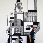 Nathalie Du Pasquier, Big Flat Construction, 2012, Courtesy die Künstlerin und Exile Gallery, Berlin, Foto: Alice Fiorilli