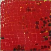 Giuliano Collina Tovaglia rossa, 2013 Lack auf Leinwand, 50 x 50 cm Ref. 65