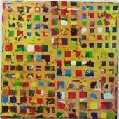 Giuliano Collina Tovaglia, 2014 Lack auf Papier auf Leinwand, 80 x 80 cm Re. 83