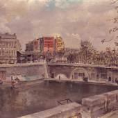Irène Zurkinden Paris, o.J. Oel auf Leinwand 55 x 65 cm Ref. 17/RB