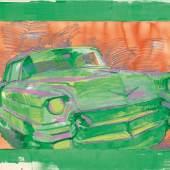 Samuel Buri Cadillac, 1994 Aquarell, Kreide auf Papier, 79 x 120 cm Ref. 4/RLH