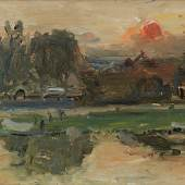 Walter Kurt Wiemken, Abend an der Seine, 1930