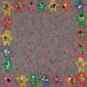 Susi Kramer, Menschen grau, 1998