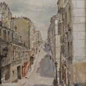 Irene Zurkinden Rue Berthe la Basse, 1939  Ref. U. 867