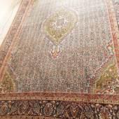 Teppich, Persien, wohl Bidjahr, Wolle auf Baumwolle,ca.326x240cm