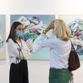 Lisa Kandlhofer at viennacontemporary 2020 © Margarita Lukić