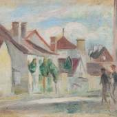 Renoir, Pierre-Auguste  Maisons d'Essoyes. Schätzpreis: CHF 145'000.-