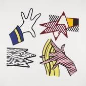 Lichtenstein, Roy  Study of Hands. Schätzpreis: CHF 8'500.-