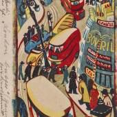 """TSCHUDI, LILL 1911 Schwanden 2004   """"London Busses"""". CHF22'000"""